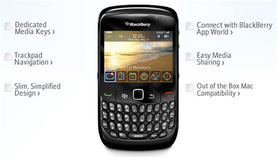 BlackBerry Curve - Full phone specifications