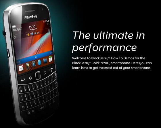 Officially Upgrade your BlackBerry BOLD 9900 to OS 7 1 0 569