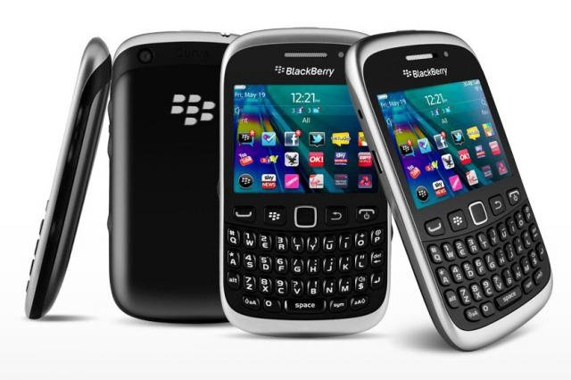 as BlackBerry Curve 9320