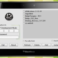 Learn how to Load Android Applications on BlackBerry PlayBook
