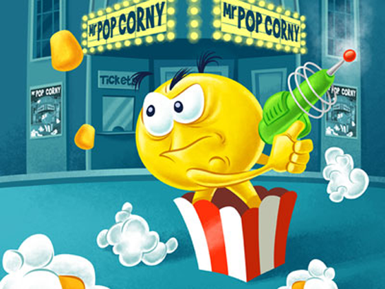 Pop Corny for BlackBerry Playbook