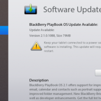 BlackBerry PlayBook OS 2.1.0.1088 officially available for download