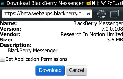 Download Latest BBM 7.0.0.108