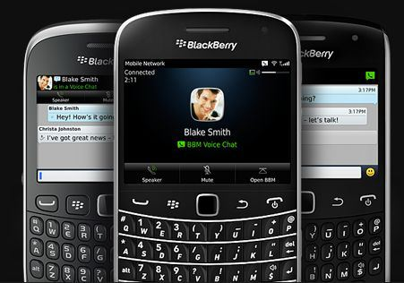 BBM 7 with voice chat for BlackBerry OS 5 and above